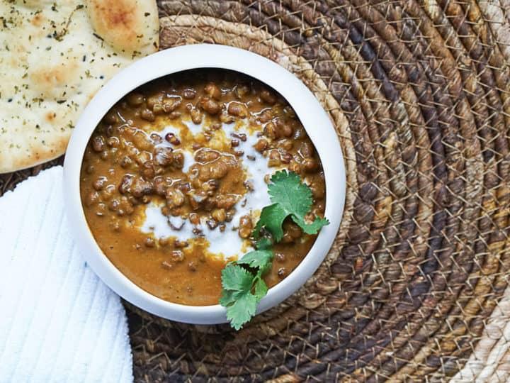 Instant Pot Dal Makhani - Vegan Black Lentil Curry