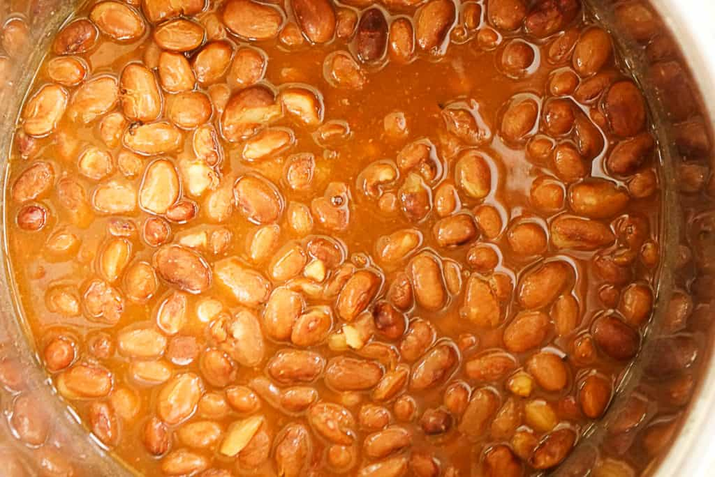 cooking refried beans