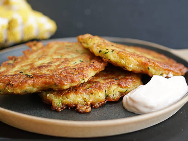 Zucchini And Lentil Fritters