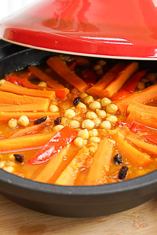 Cooking A Chickpea Tagine