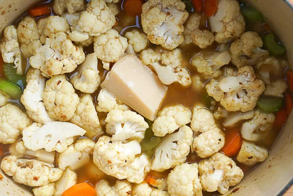 cauliflower and parmesan
