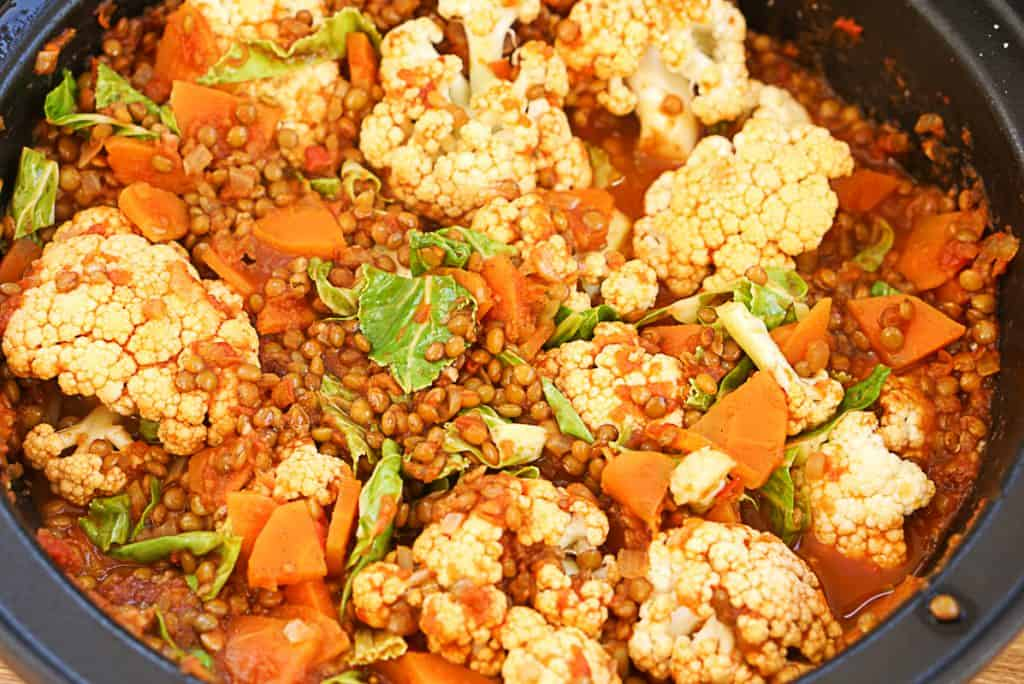 cauliflower tagine