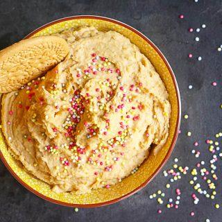 Festive Cake Batter Hummus