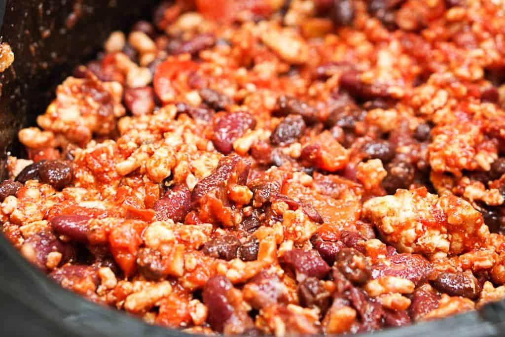 Gluten free chili beans